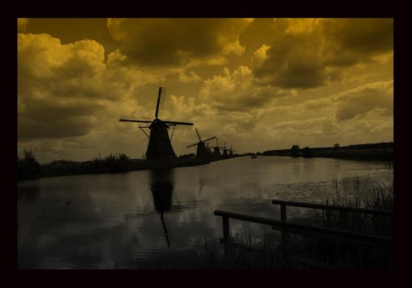 Windmills by acididko