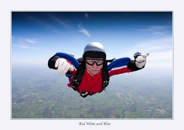 Red White and Blue by skydivemike
