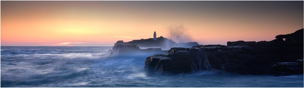 Godrevy Swell by pmorgan