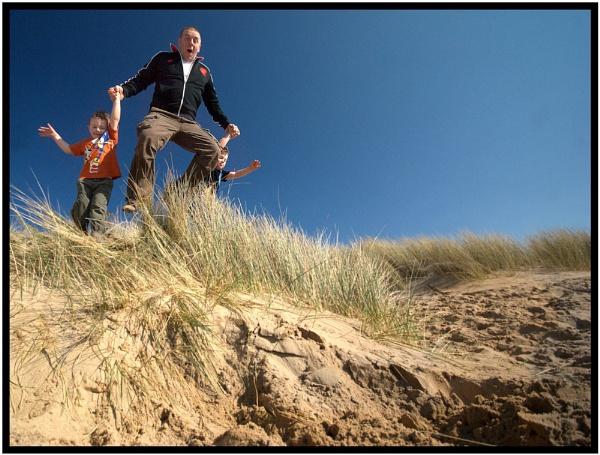 Dune Jumping by GoodallPhotography