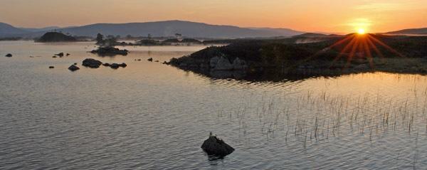 Rannoch Moor sunrise by RosePhoto