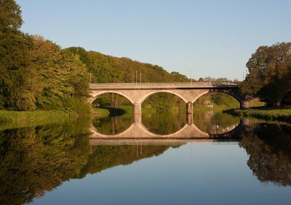 Bridge of Don Reflection by Mstphoto
