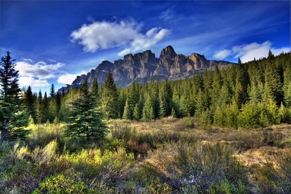 Castle Mountain by soppygreatdane