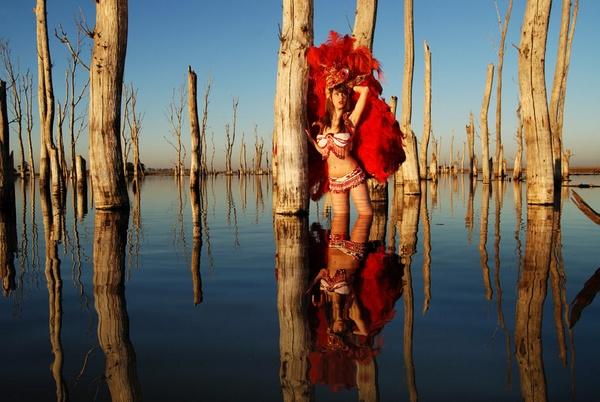 Laguna Roja by Bernabedellamattia
