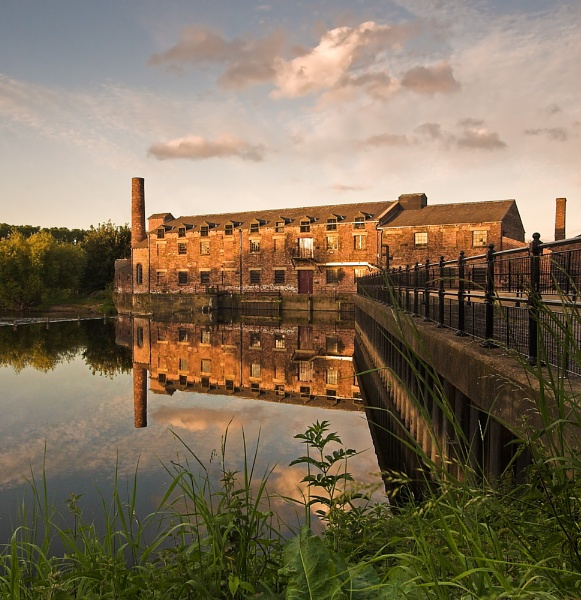Thwaites Mill by VintageRed
