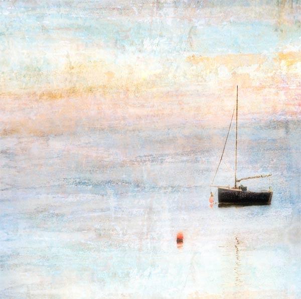 boat in the water by StevenLePrevost