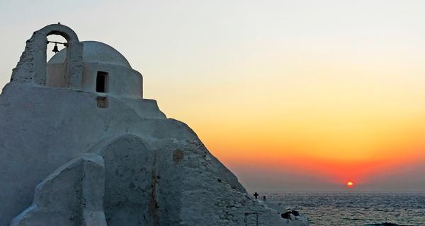 Mykinos Sunset by SuperRoo
