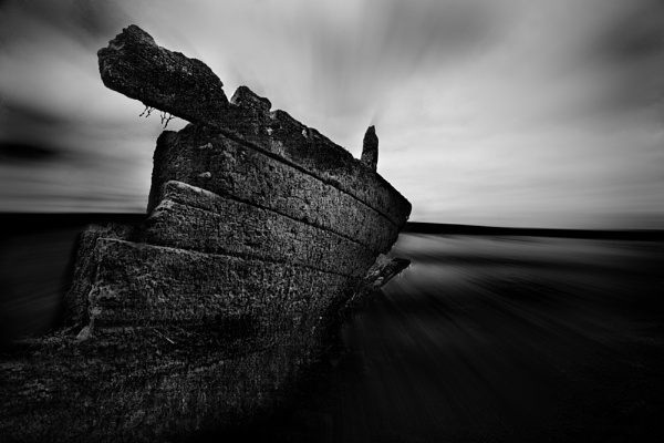 Lawrenny Wreck by AndrewR