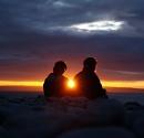 summer sun set