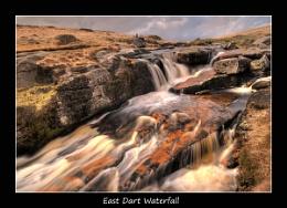East Dart Waterfall , Dartmoor