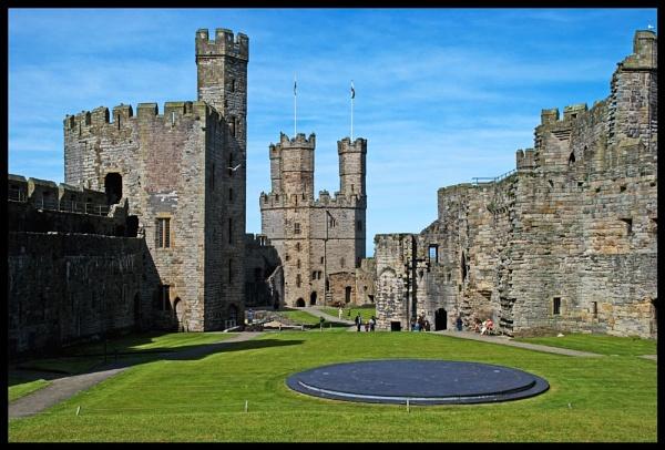 Caernarfon Castle 2 by alwolf