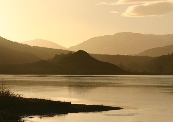 Scottish Sunset by Mstphoto
