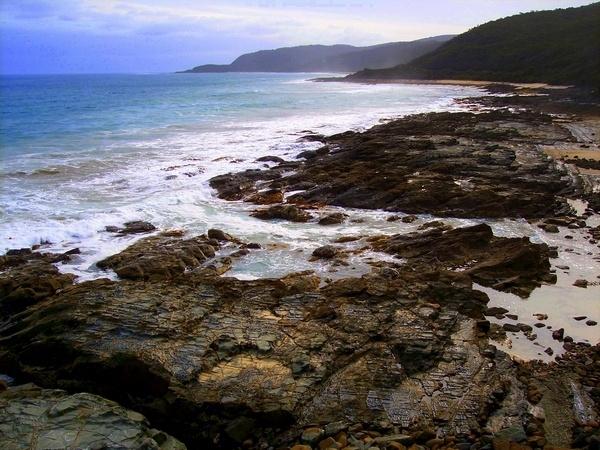 On the rocks by ablast