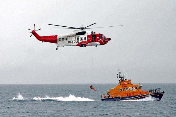 Irish coast guard by TIMOINDUBLIN