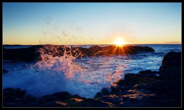 Sunshine & Water by SteveHarry
