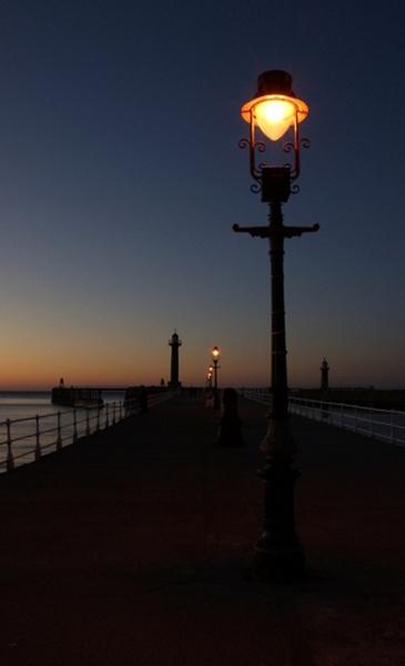 Whitby Pier by catmandu