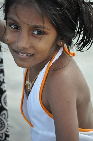 Tamil Girl by Dusan