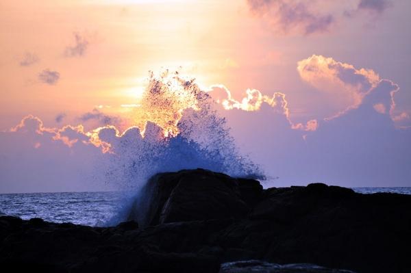 Srilankan Sunset by Dusan