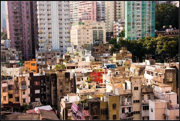Alternate Hong Kong Skyline by Artful_Dodger