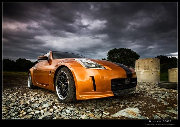 Nissan 350Z by garymcparland