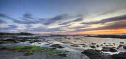 Turnbury sunset