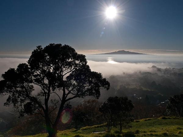 Rangitoto Sunrise by Woofmix