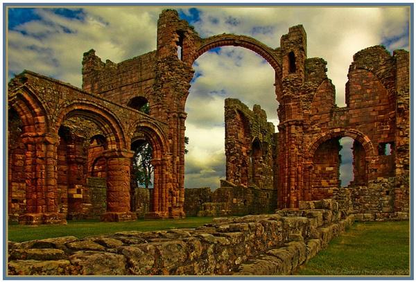 Lindisfarne Priory by Clayey