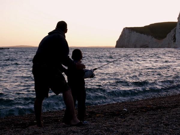 fishing lessons by Ginamagnolia