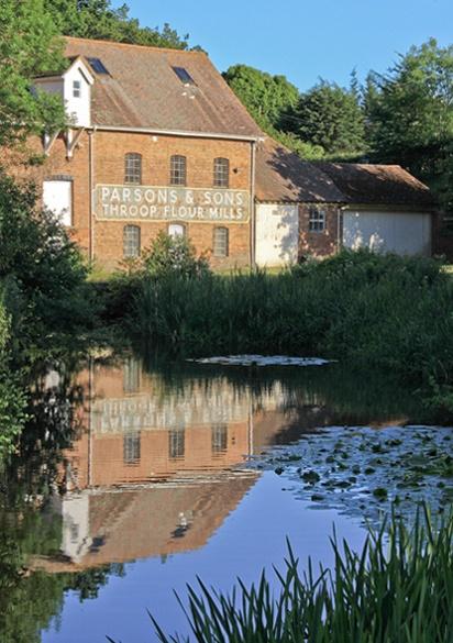 Throop Mill again by HelenHiggs