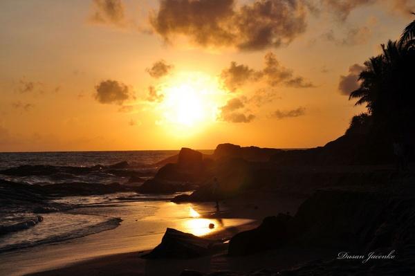Another SriLankan Sun Set by Dusan