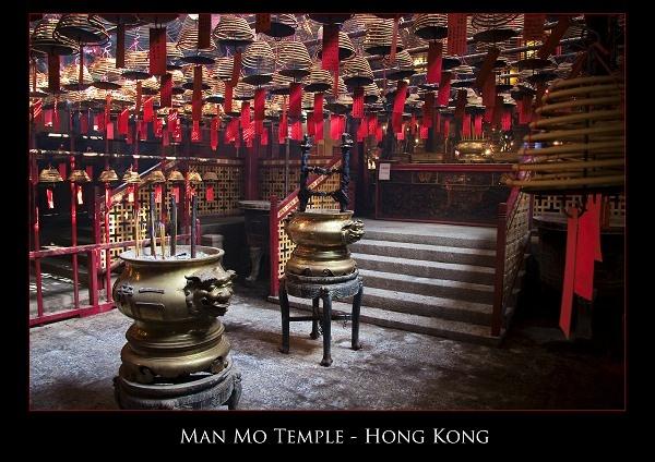 Man Mo Temple Hong Kong by Artful_Dodger