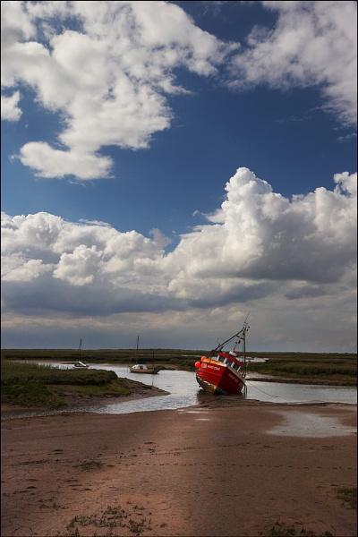 Brancaster Boat by conrad