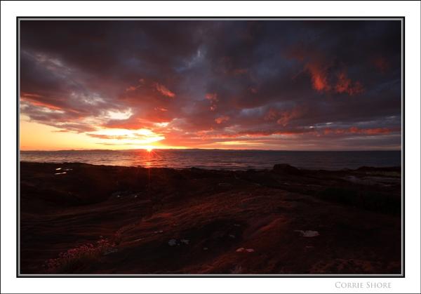 Corrie Shore... by Scottishlandscapes