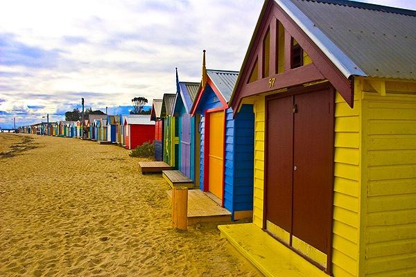 Brighton Beach by DavidA