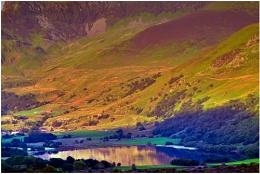 Nantlle lake.
