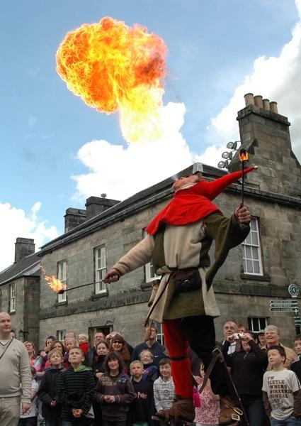 Fire Breathing Jester by Rhymemaker