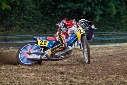 Grass Track Rider No22