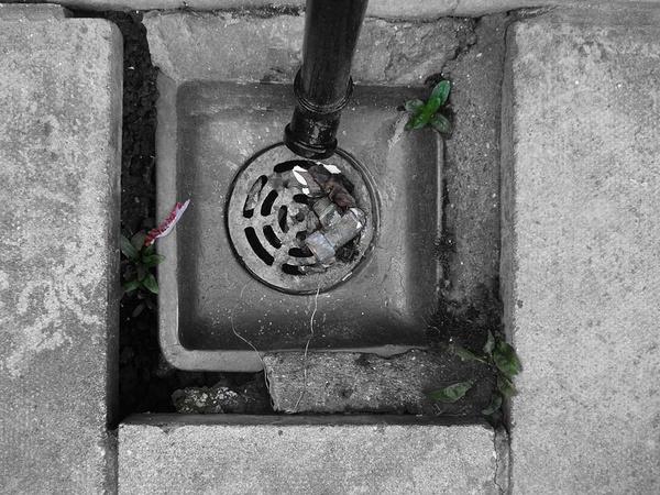 down the drain by imagio