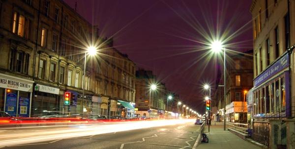 Great Western Road, Glasgow by bigbadgoggs