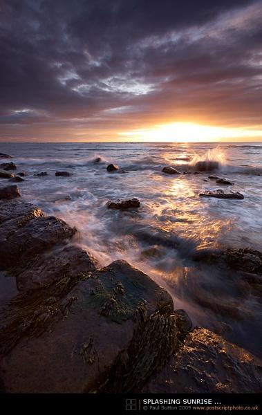 Splashing Sunrise ... by sut68