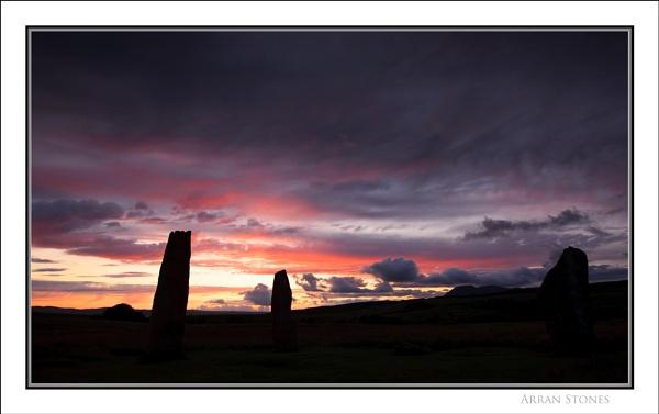 Arran Stones... by Scottishlandscapes