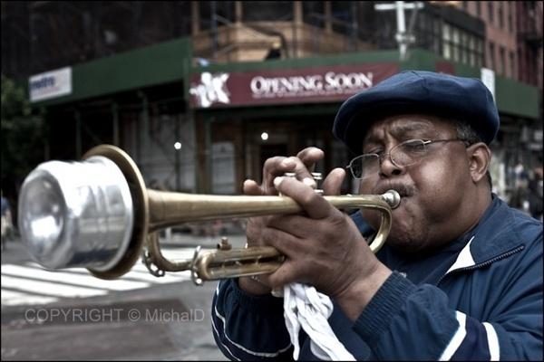 Trumpet by MichalD