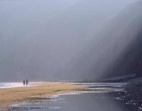 stroll along the beach by alfpics