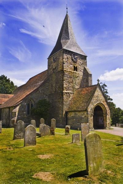 Burwash church by ENGLISHSKIN