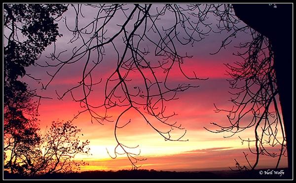 Evening sunset by lobo_blanco