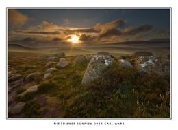 Midsummer Sunrise Over Carl Wark