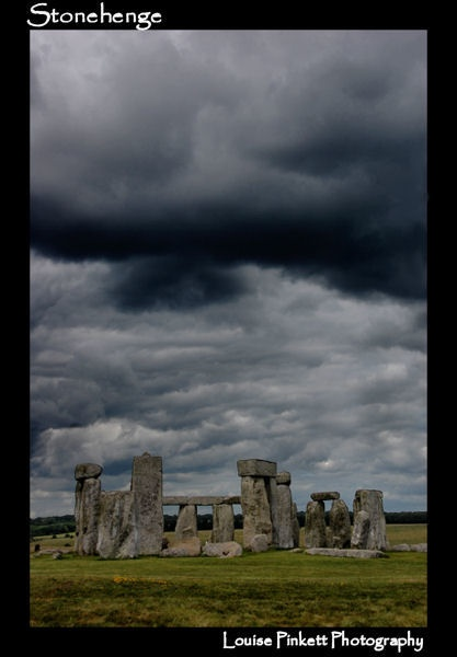 Stonehenge Storm by Lou_Pink
