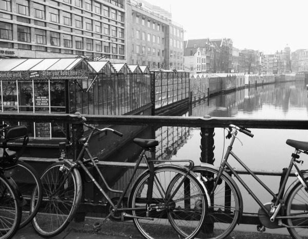 floating flower market. Amsterdam by quattro