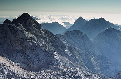 the Kamniski Alps by roy clark