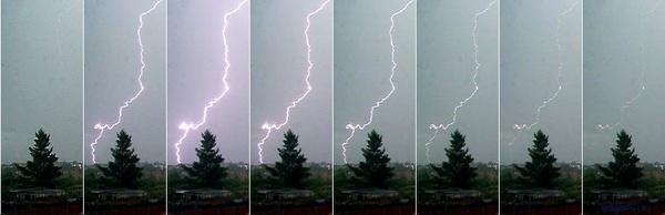 Lightning strike by nytecam